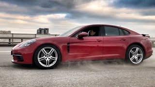 Новая PORSCHE Panamera 4S и BMW 530d G30! Backstage со съемок + Павел Блюденов   ) Тест обзор   )