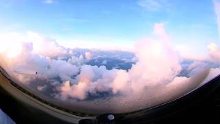 Learjet Landing Grand Cayman - Theta V 360 Video