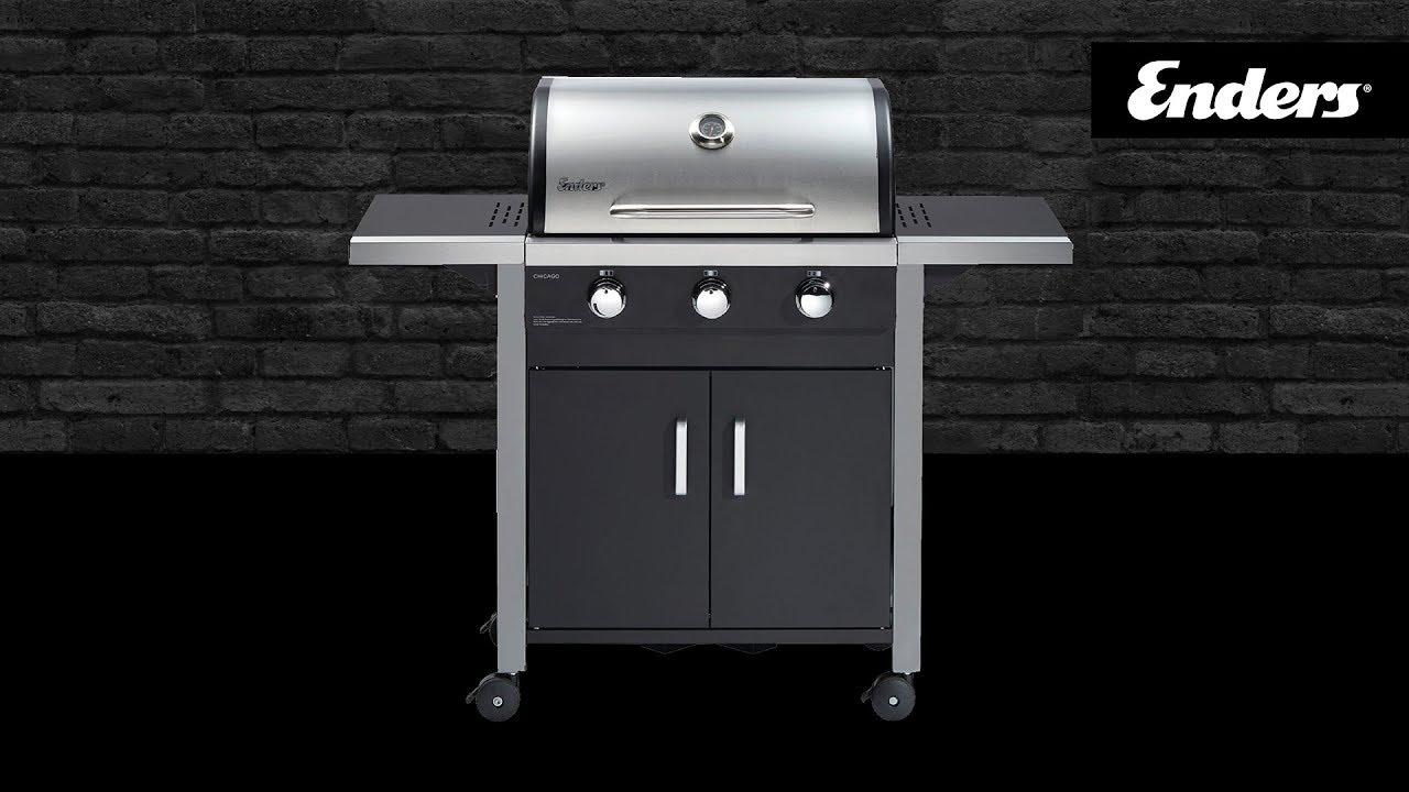 Enders Gasgrill Kansas Black Pro 3 K Turbo : Enders bbq grill ratgeber