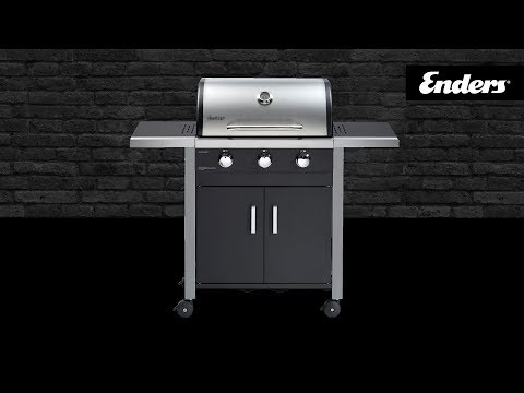 Aldi Gasgrill Boston Pro 3k : Enders kansas black pro k turbo youtube