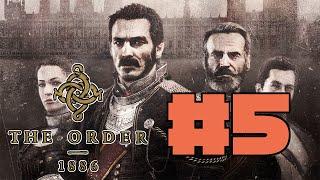 The Order 1886 PS4 Walkthrough Part 5 - Elder Werewolf Boss Fight (1080p HD)