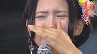 感動(泣) HKT48 兒玉遥 緊張の上、滑舌が苦手で、たどたどしくも、思いが伝わる総選挙後のスピーチ!