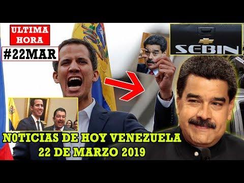 VENEZUELA N0TICIAS DE H0Y 22 MAR 2019- Sebin detiene Roberto Marrero Guaidó a Maduro ¿Intimidarnos?