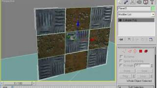This Max tutorial shows you two ways to acheive multiple materials ...