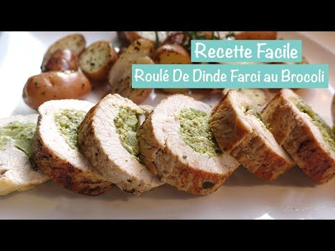 recette-facile-:-roulé-de-dinde-farci-au-brocoli