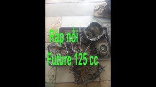 Sửa xe Cùi Bắp_Ráp nồi xe Future 125 cc Fi ( assemble clutches Honda Future 125 cc)