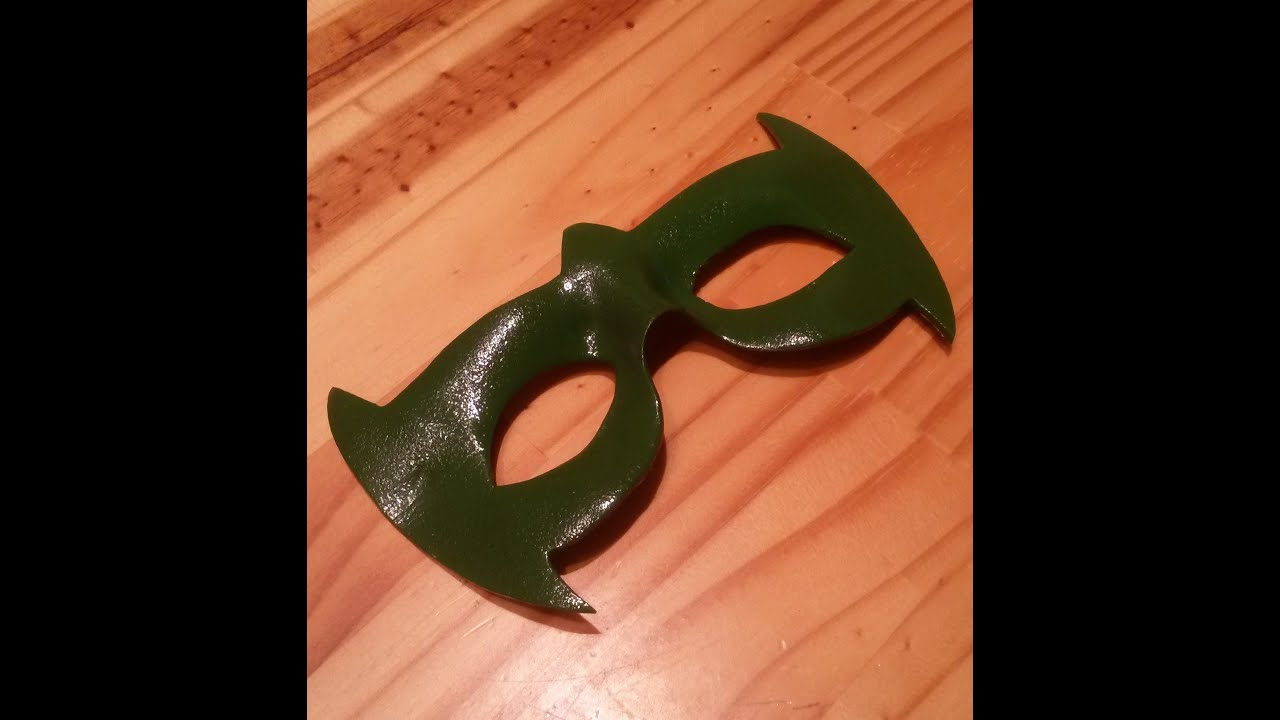 DIY Foam Superhero Mask Tutorial 5 easy steps - YouTube