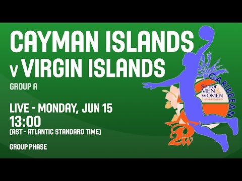 Cayman Islands v Virgin Islands - Group A - 2015 CBC Championship