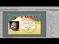 Tagalog Tutorial in making Company ID using Photoshop
