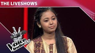 Neelanjana Ray Performs On Tujhse Naaraz Nahi Zindagi | The Voice India Kids | Episode 19