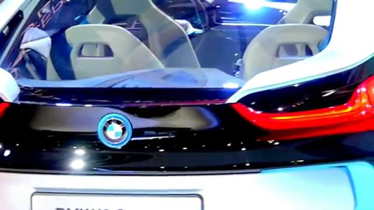 bmw i8 concept car mission impossible youtube