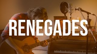 """Renegades"" - X Ambassadors (Acoustic Loop Pedal Cover) With Lyrics And Tabs!"