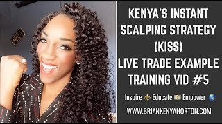 Live FOREX SCALP from Start to Finish!!! - Kenya's Instant Scalping Strategy (KiSS) - IML