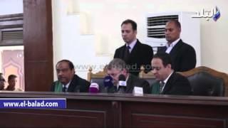 بالفيديو والصور ...قاضى أنصار بيت المقدس يمنع تصوير الشاهد ويحظر نشر أقواله ..والتأجيل لـ 30 يناير