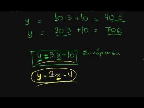 μαθηματικά β γυμνασίου εισαγωγή στις συναρτήσεις