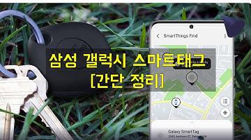 삼성 갤럭시 스마트태그를 사용해보자 | Tag It, Find It! Samsung Galaxy Smart Tags.