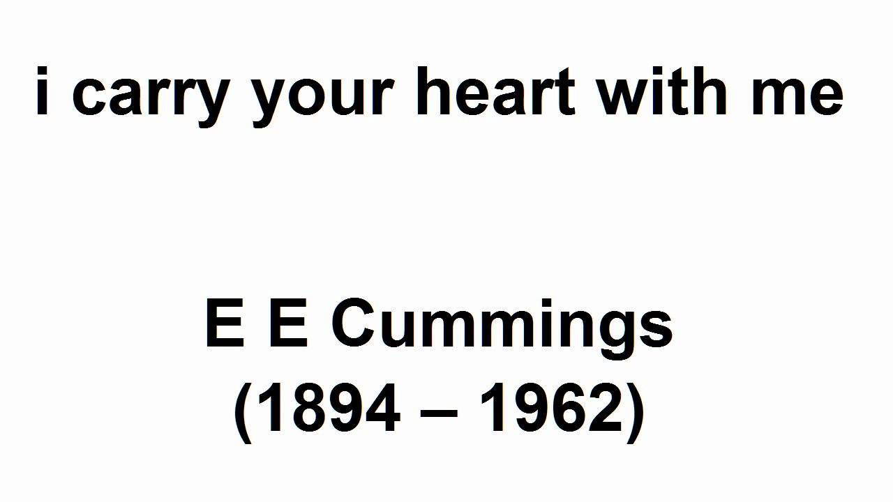 ee cummings i carry your heart poem meaning