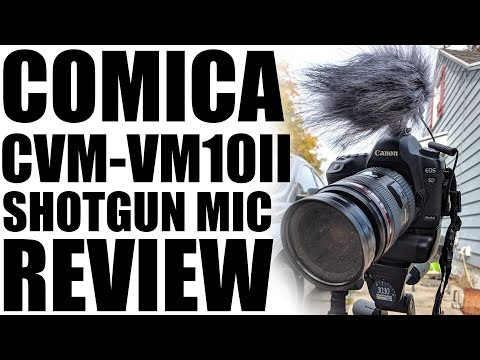 Comica CVM-VM10II Microphone Review - Sound Test