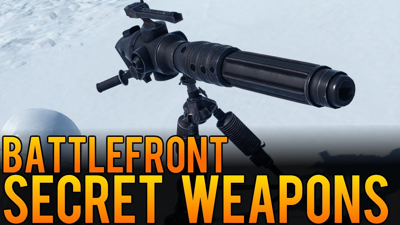 how to change guns in star wars battlefront