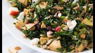 Chicken Kale &amp Wild Rice Salad