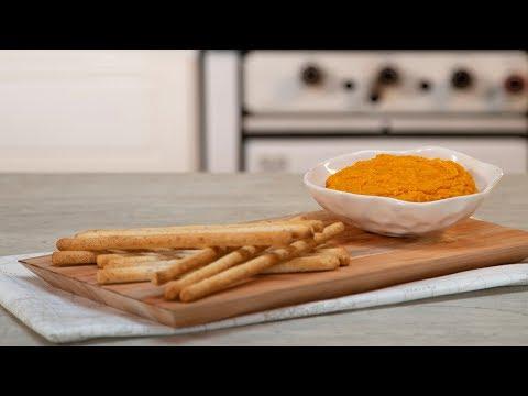 Dip de Zanahoria con Grisines Integrales | #SalvemosLaComida by Hellmann's