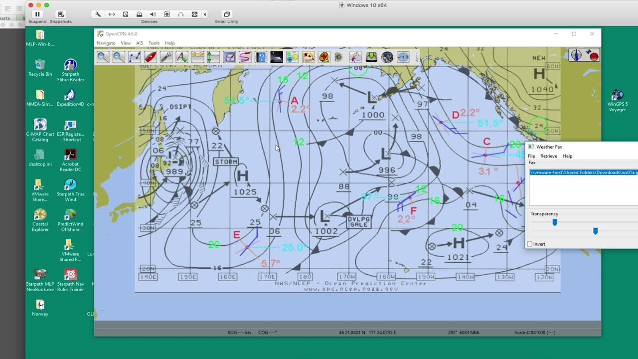 Weatherfax Plugin for OpenCPN
