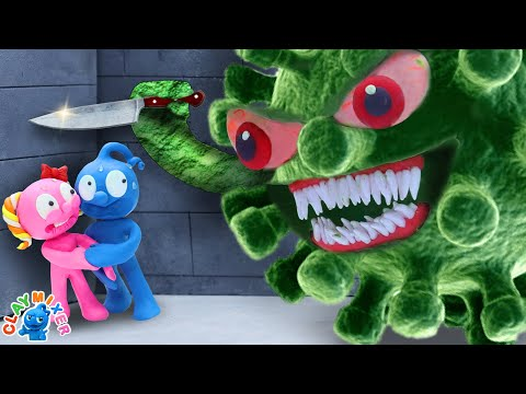 Tiny Should Be Quarantined At Home   Stop Motion Animation Short Film