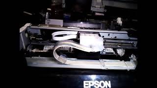 Impressora Epson L365. Travada, Erro Geral. Luzes piscando. Comp.L210 L220 L355 L365 L375 L395 L475