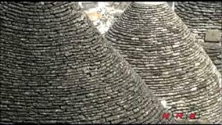 «Трулли» -- традиционные жилища в  ... (UNESCO/NHK)(«Трулли», жилые крестьянские постройки из известняка, расположенные в южной области Апулия, являются уника..., 2010-06-18T08:24:36.000Z)