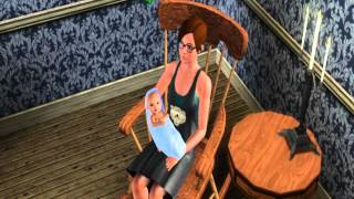 Sims 3 Supernatural - Rocking Chair