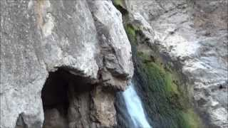 Paradise Falls in Wildwood Park, Thousand Oaks, California