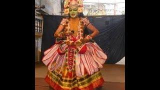 Ottamthullal Kiratham Traditional Dance Performance Of Kerala