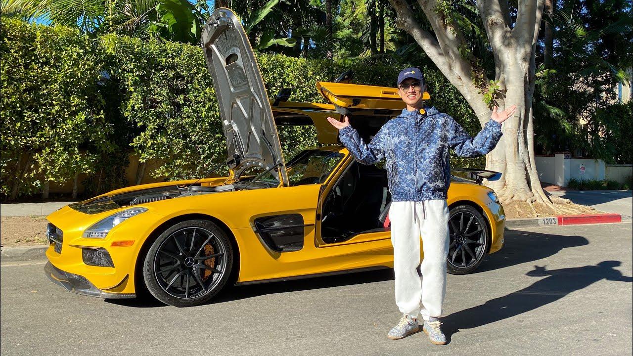 好好聊聊这三百万老奔驰优缺点!2014 Mercedes AMG SLS Black Series