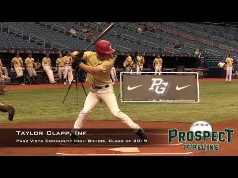 Taylor Clapp Prospect Video, Inf, Park Vista Community High School Class of 2019