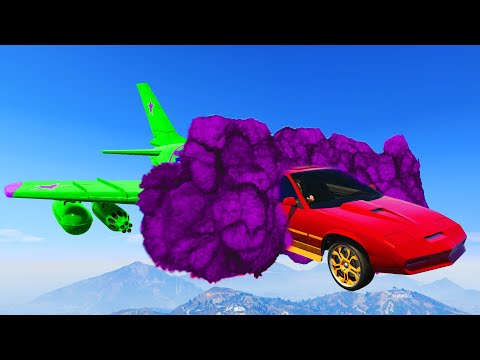 MOST INSANE TRANSFORMING RACES! (GTA 5 DLC)
