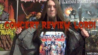 Concert Review: Lordi