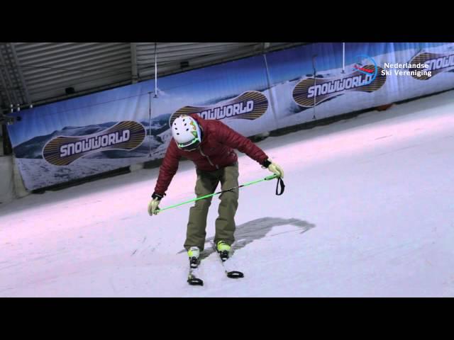 Skitechniek: basishouding bij het skiën