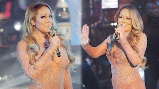 Mariah Carey Finally Addressed Her Disastrous NYE Performance | Splash News TV