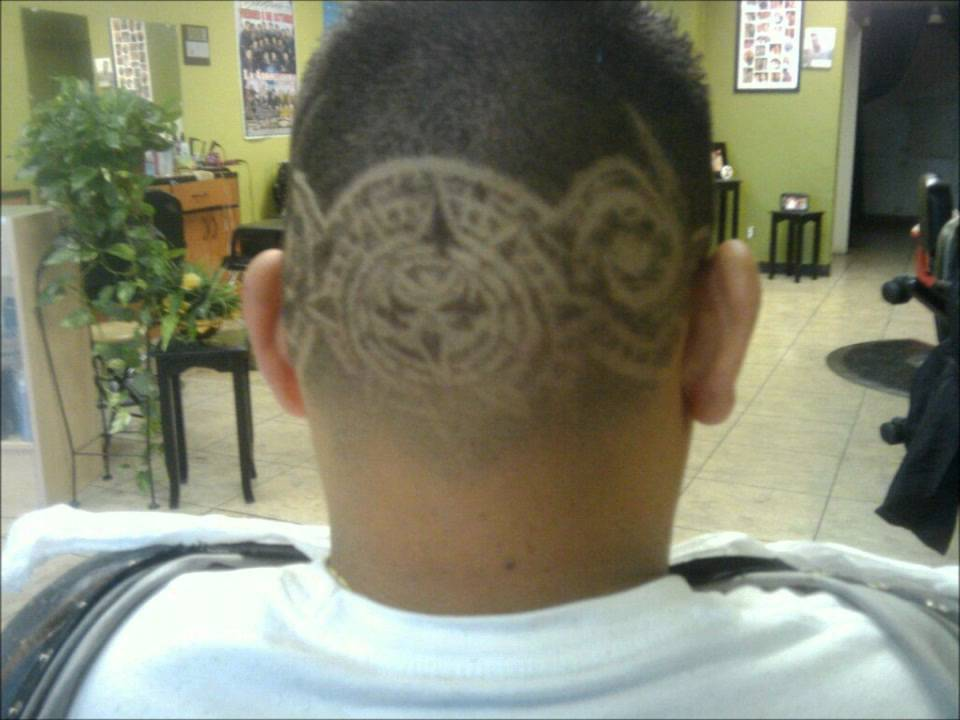 Hair Style Videos Youtube: Aztec Hair Designs By Armando Toris