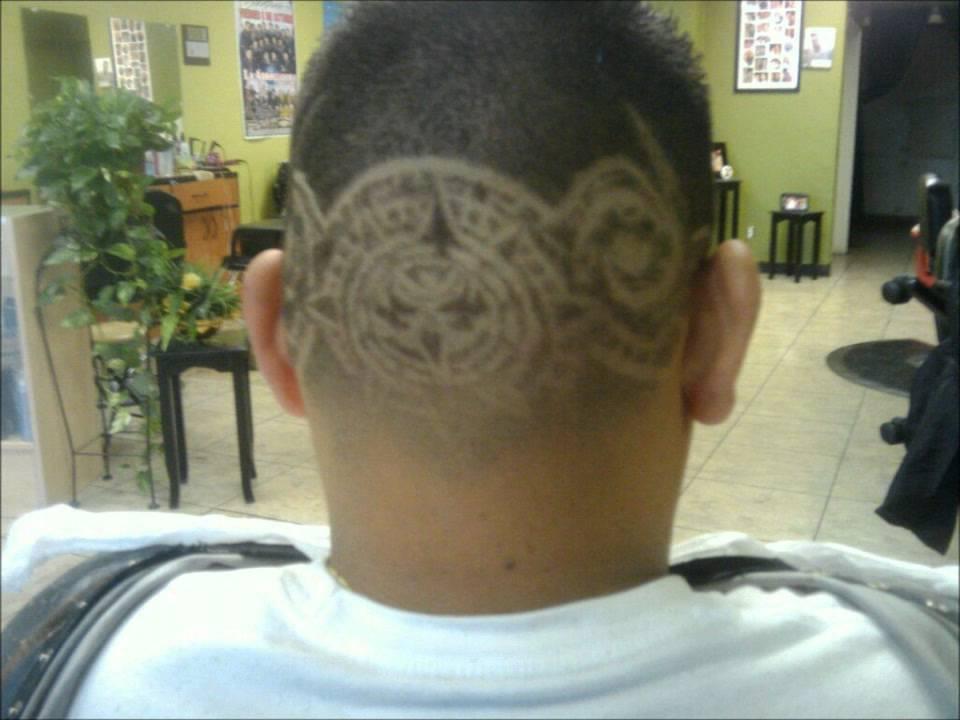 aztec hair design armando toris