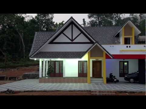 Mandapathil house latest single storey house in kerala for 10 lakh home designs