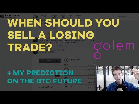When Should You Sell A Losing Trade? Why I Doubled Down on $GNT, Bitcoin Predictions - CMTV Ep32