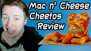 EFV: Mac N' Cheese Cheetos Review