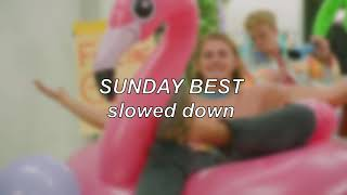Surfaces - Sunday Best | Slowed Down