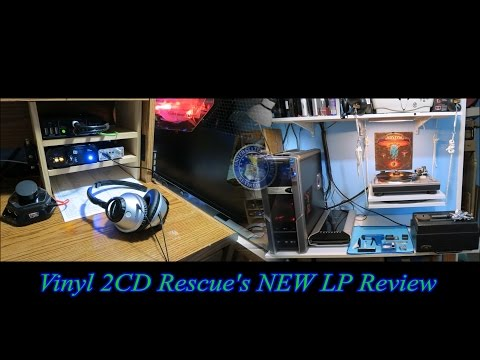 Vinyl 2CD Rescue's NEW LP Review - Rush, Metallica, and Iced Earth  - 12/17/16