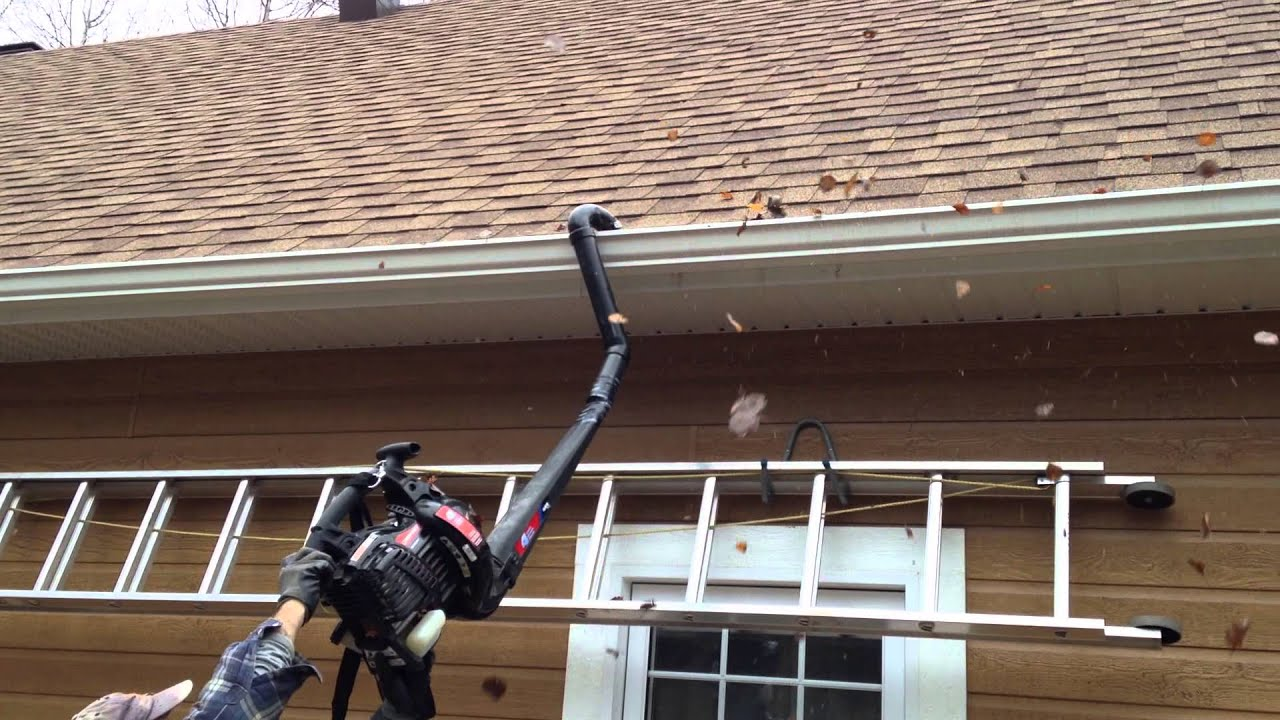 How To Clean Your Gutters Youtube