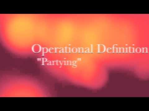 Conceptual vs. Operational Definition