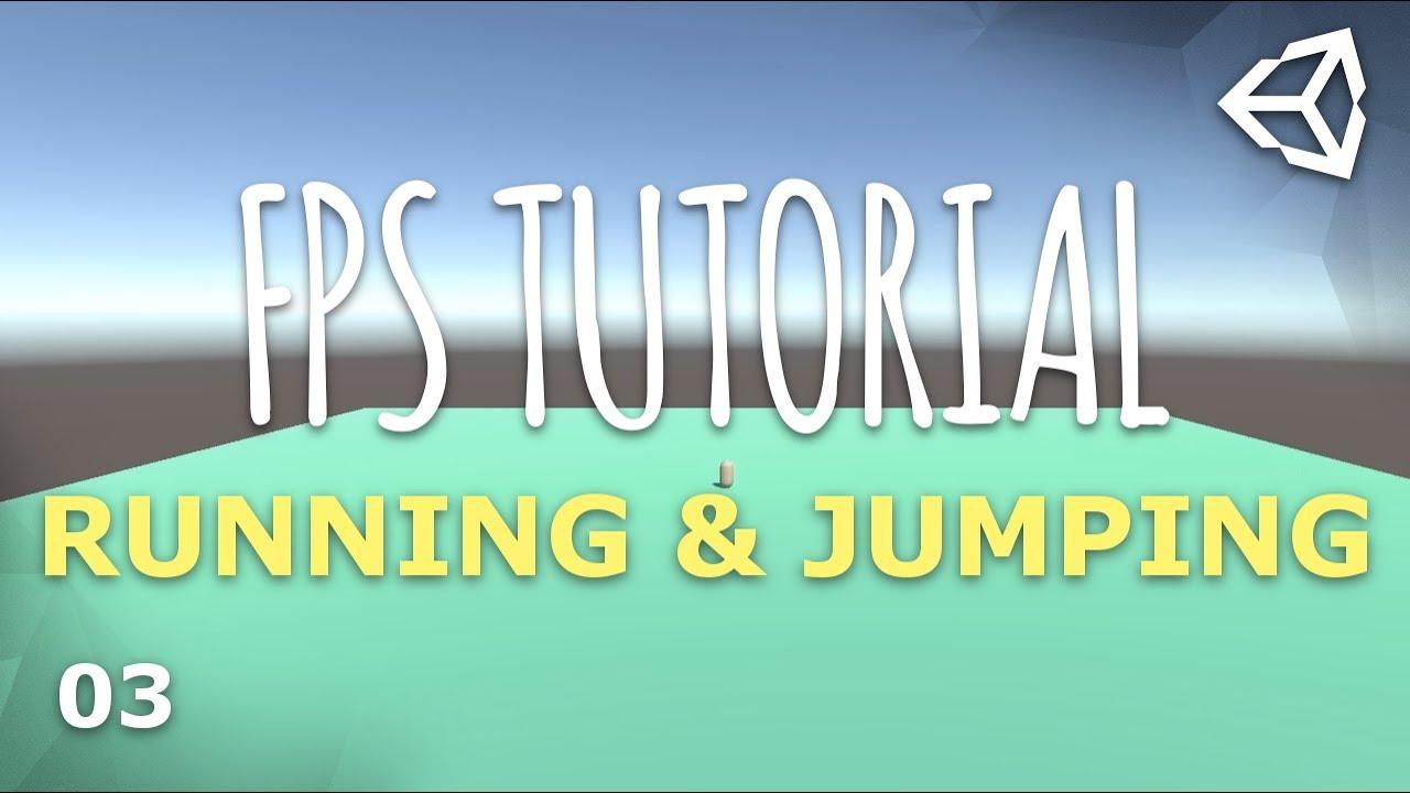 Unity 3D Multiplayer FPS Tutorial 03 - Running & Jumping