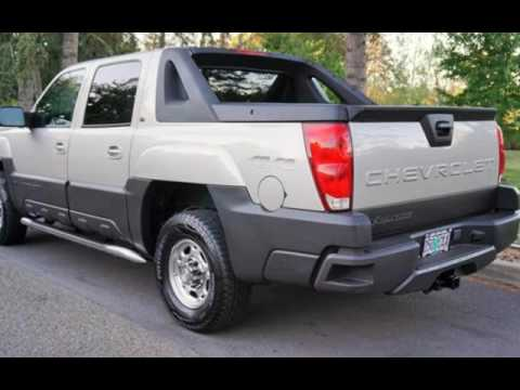 Chevy Avalanche 2016 >> 2005 Chevrolet Avalanche 2500 LT Big Block 8.1L V8 8100 1-Owner for sale in Milwaukie, OR - YouTube
