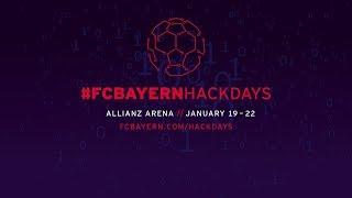 #FCBayernHackDays   January 19 to 22   Trailer
